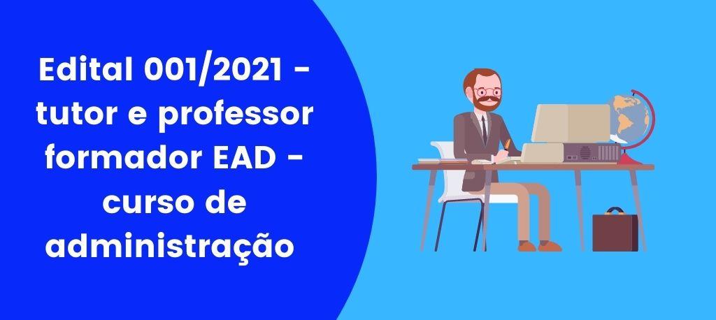 Edital 001/2021